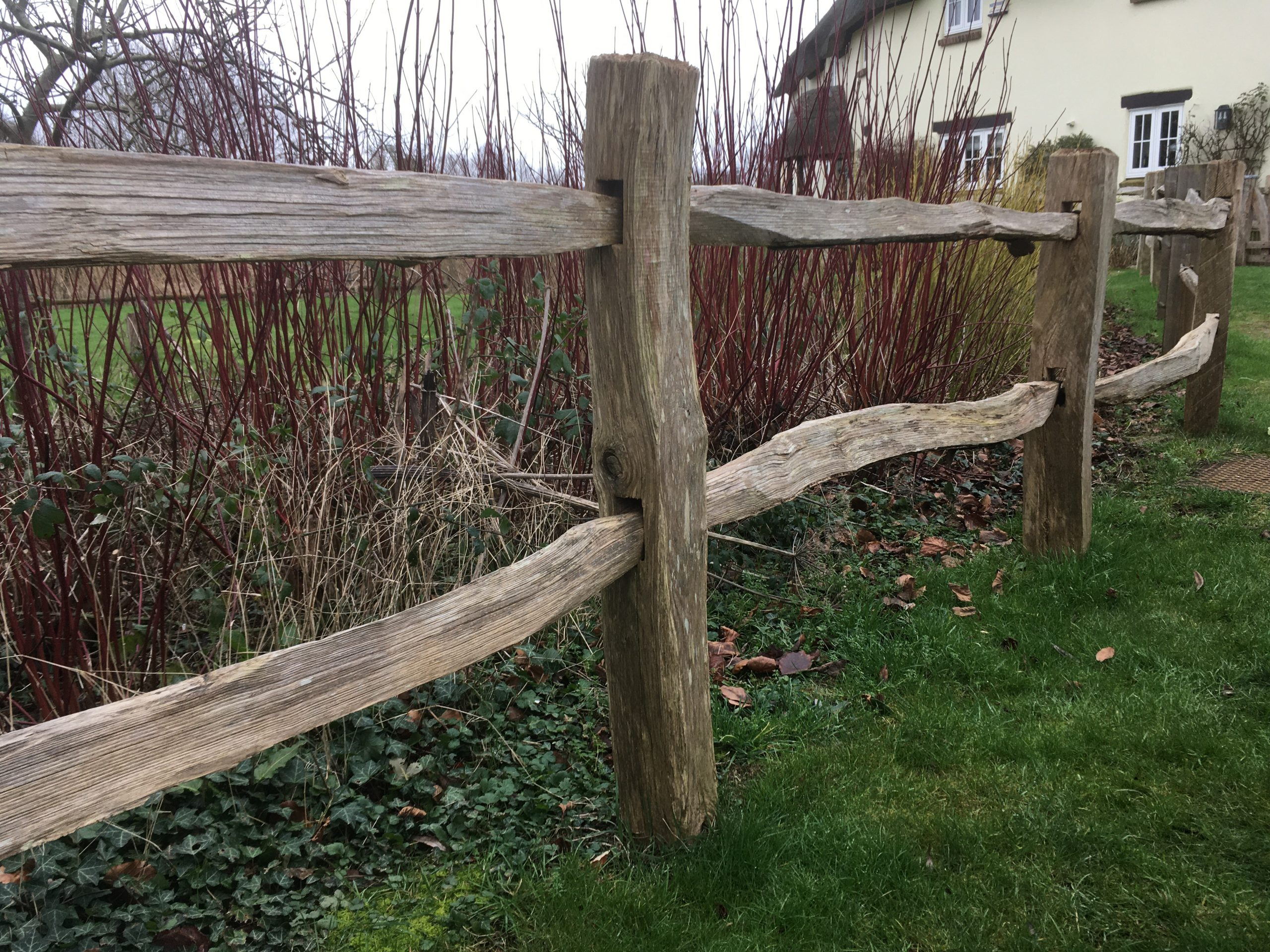 NATURAL SPLIT POST & RAIL DORCHESTER DORSET